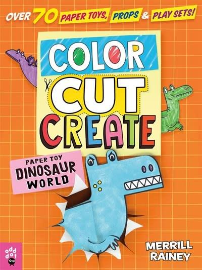Odd Dot Color, Cut, Create Play Sets: Dinosaur World