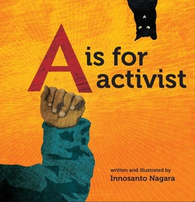 Triangle Square A Is For Activist (Board Book)