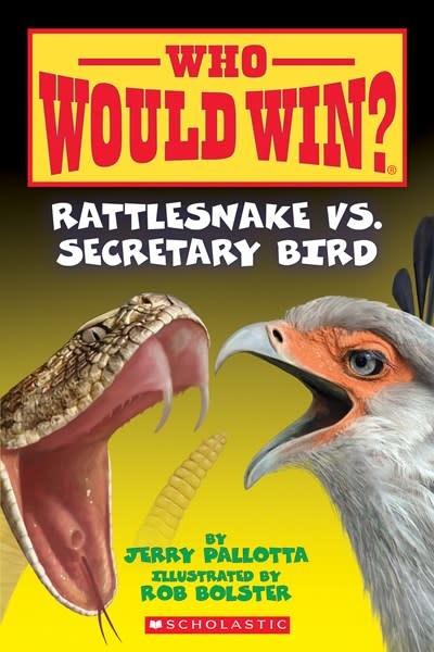 Scholastic Inc. Rattlesnake vs. Secretary Bird (Who Would Win?)