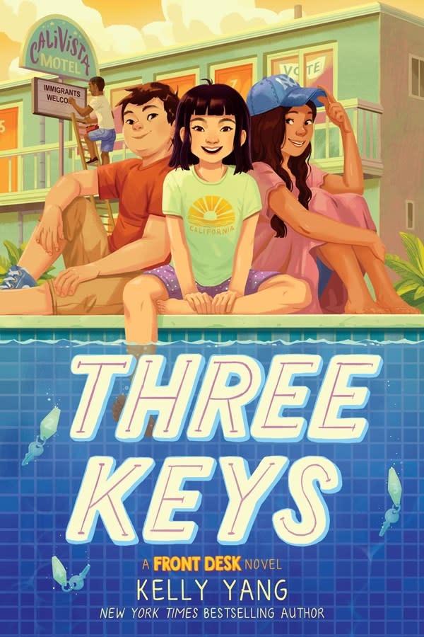 Scholastic Press Three Keys (A Front Desk Novel)