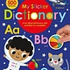 Cartwheel Books My Sticker Dictionary: Scholastic Early Learners (Sticker Book)