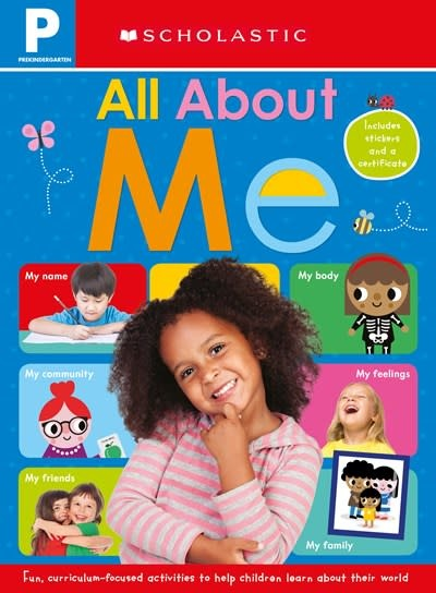 Cartwheel Books All About Me Workbook: Scholastic Early Learners (Workbook)