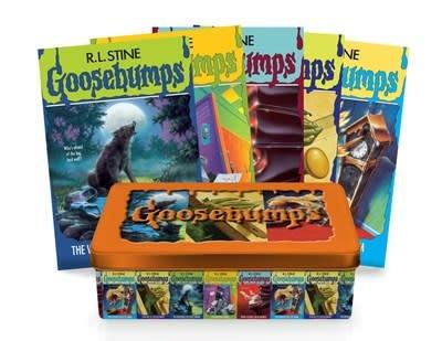 Scholastic Paperbacks Goosebumps Retro Fear Set: Limited Edition Tin
