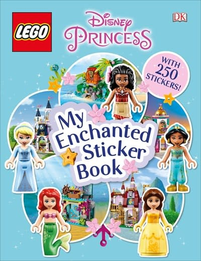 DK Children LEGO Disney Princess My Enchanted Sticker Book