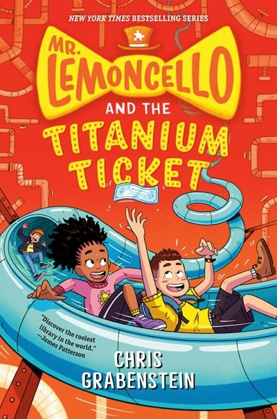 Random House Books for Young Readers Mr. Lemoncello's Library 05 The Titanium Ticket