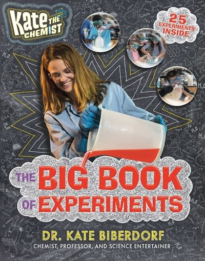 Philomel Books Kate the Chemist: The Big Book of Experiments