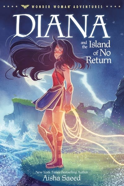 Random House Books for Young Readers Wonder Woman Adventures: Diana and the Island of No Return