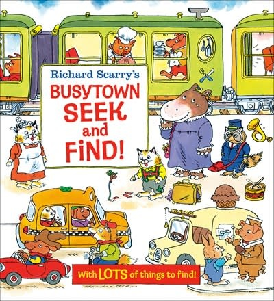 Golden Books Richard Scarry's Busytown Seek and Find!