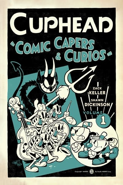 Dark Horse Books Cuphead Volume 1: Comic Capers & Curios