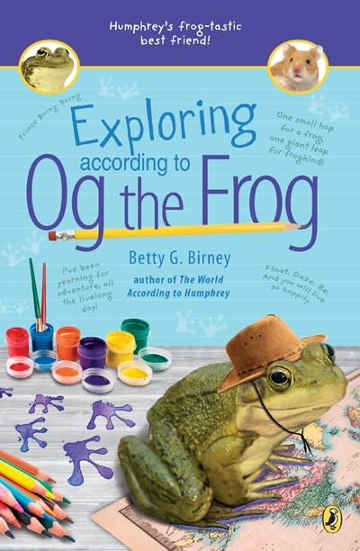Puffin Books Exploring According to Og the Frog