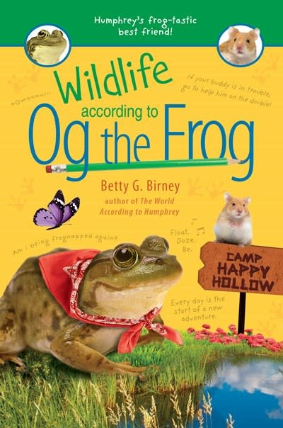 G.P. Putnam's Sons Books for Young Readers Wildlife According to Og the Frog