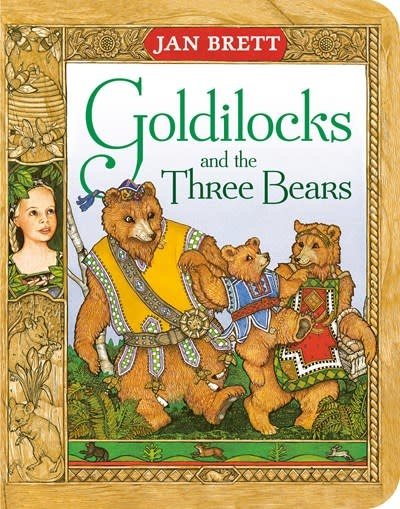 G.P. Putnam's Sons Books for Young Readers Goldilocks and the Three Bears