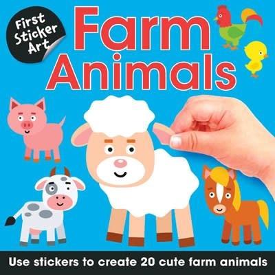 B.E.S. First Sticker Art: Farm Animals