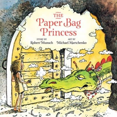 Annick Press Paper Bag Princess Unabridged