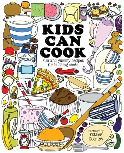 Button Books Kids Can Cook: Fun & Yummy Recipes for Budding Chefs