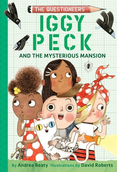 Amulet Books The Questioneers: Iggy Peck and the Mysterious Mansion