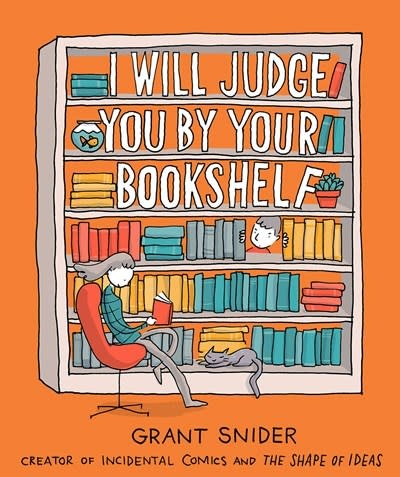 Abrams ComicArts I Will Judge You by Your Bookshelf