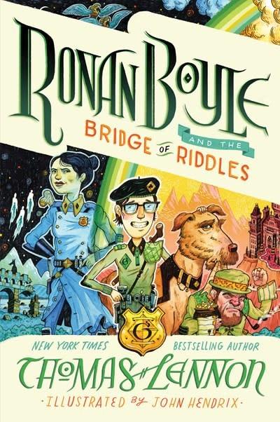 Amulet Paperbacks Ronan Boyle and the Bridge of Riddles (Ronan Boyle #1)