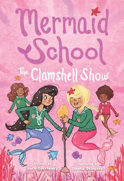 Amulet Paperbacks The Clamshell Show (Mermaid School #2)