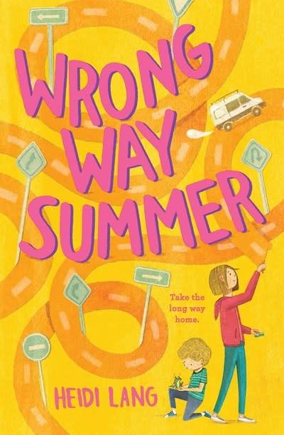 Amulet Books Wrong Way Summer