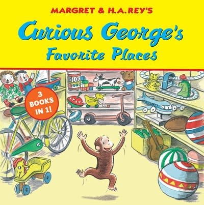 HMH Books for Young Readers Curious George's Favorite Places
