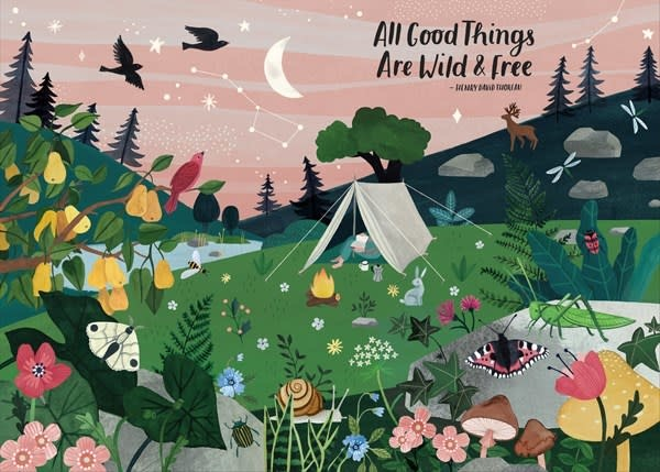 Workman Publishing Company All Good Things Are Wild and Free 1,000-Piece Puzzle