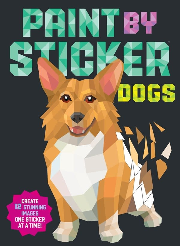 Workman Publishing Company Paint by Sticker: Dogs