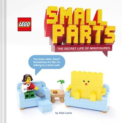 Chronicle Books LEGO Small Parts: The Secret Life of Minifigures