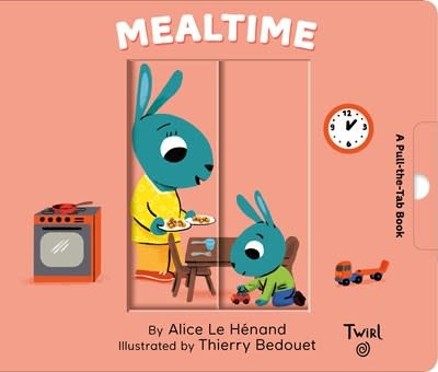 Twirl Pull and Play Books: Mealtime