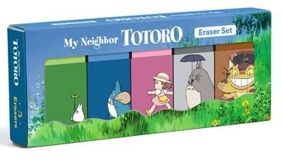 Chronicle Books My Neighbor Totoro Erasers