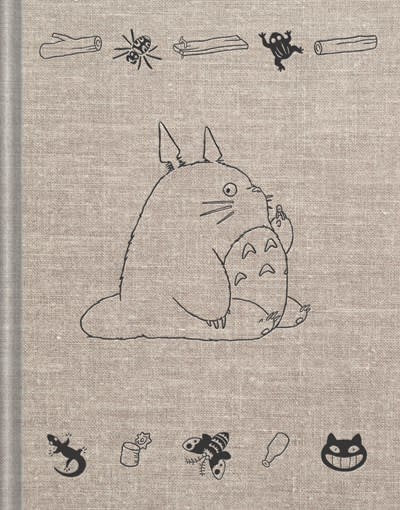 Chronicle Books My Neighbor Totoro Sketchbook