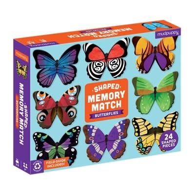 Butterflies Shaped Memory Match