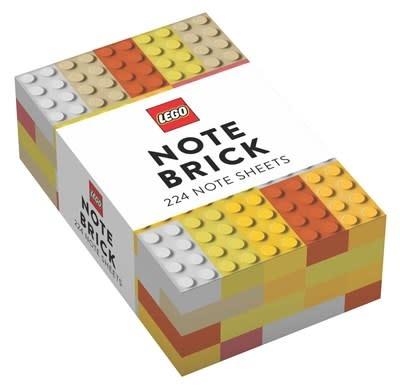 Chronicle Books LEGO® Note Brick (Yellow-Orange)