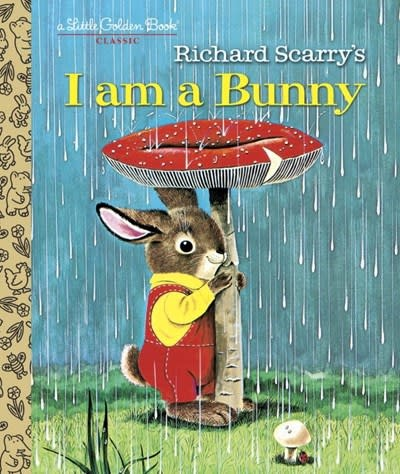 Golden Books Richard Scarry: I am a Bunny