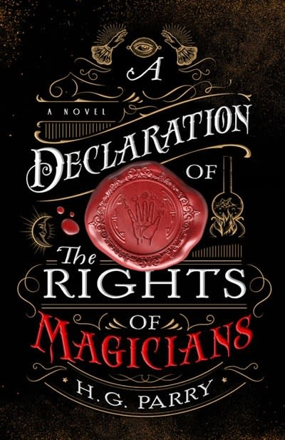 Redhook A Declaration of the Rights of Magicians: A Novel (The Shadow Histories #1)