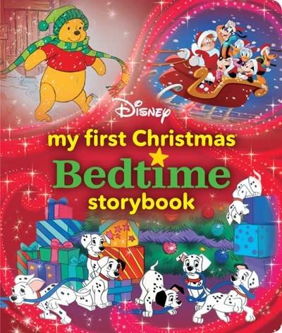 Disney Press My First Disney Christmas Bedtime Storybook