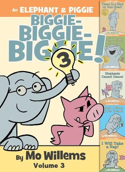 Hyperion Books for Children Elephant & Piggie Biggie Omnibus 03 (5 Books)