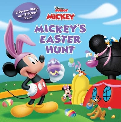 Disney Press Mickey Mouse Clubhouse Mickey's Easter Hunt