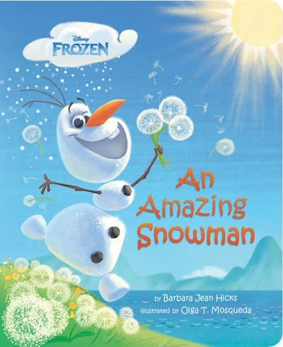 Disney Press An Amazing Snowman