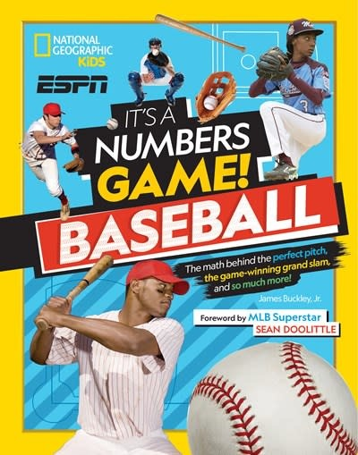 National Geographic Kids It's a Numbers Game! Baseball