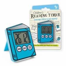 Children's Reading Timer - Blue