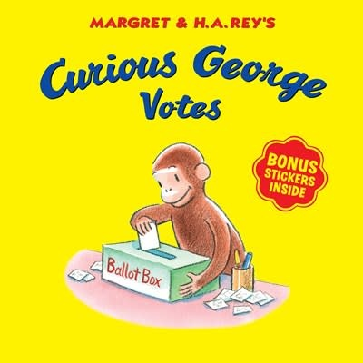 HMH Books for Young Readers Curious George Votes