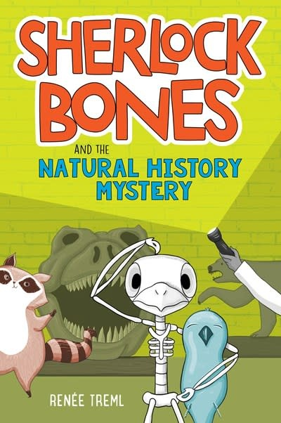Etch/HMH Books for Young Readers Sherlock Bones and the Natural History Mystery