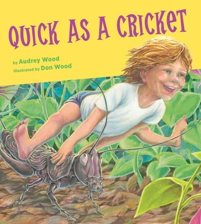 HMH Books for Young Readers Quick as a Cricket