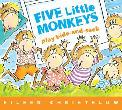 HMH Books for Young Readers Five Little Monkeys Play Hide and Seek