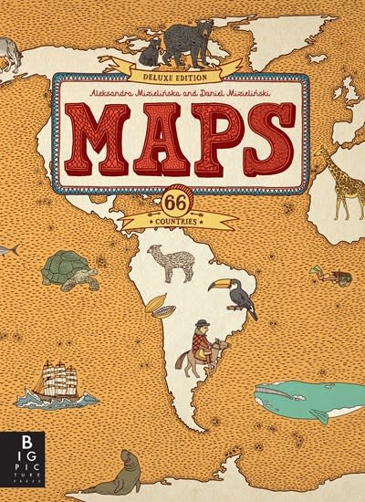 Big Picture Press Maps: Deluxe Edition
