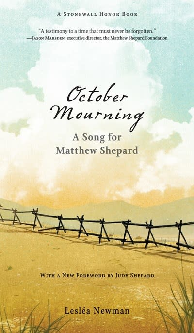 Candlewick October Mourning: A Song for Matthew Shepherd