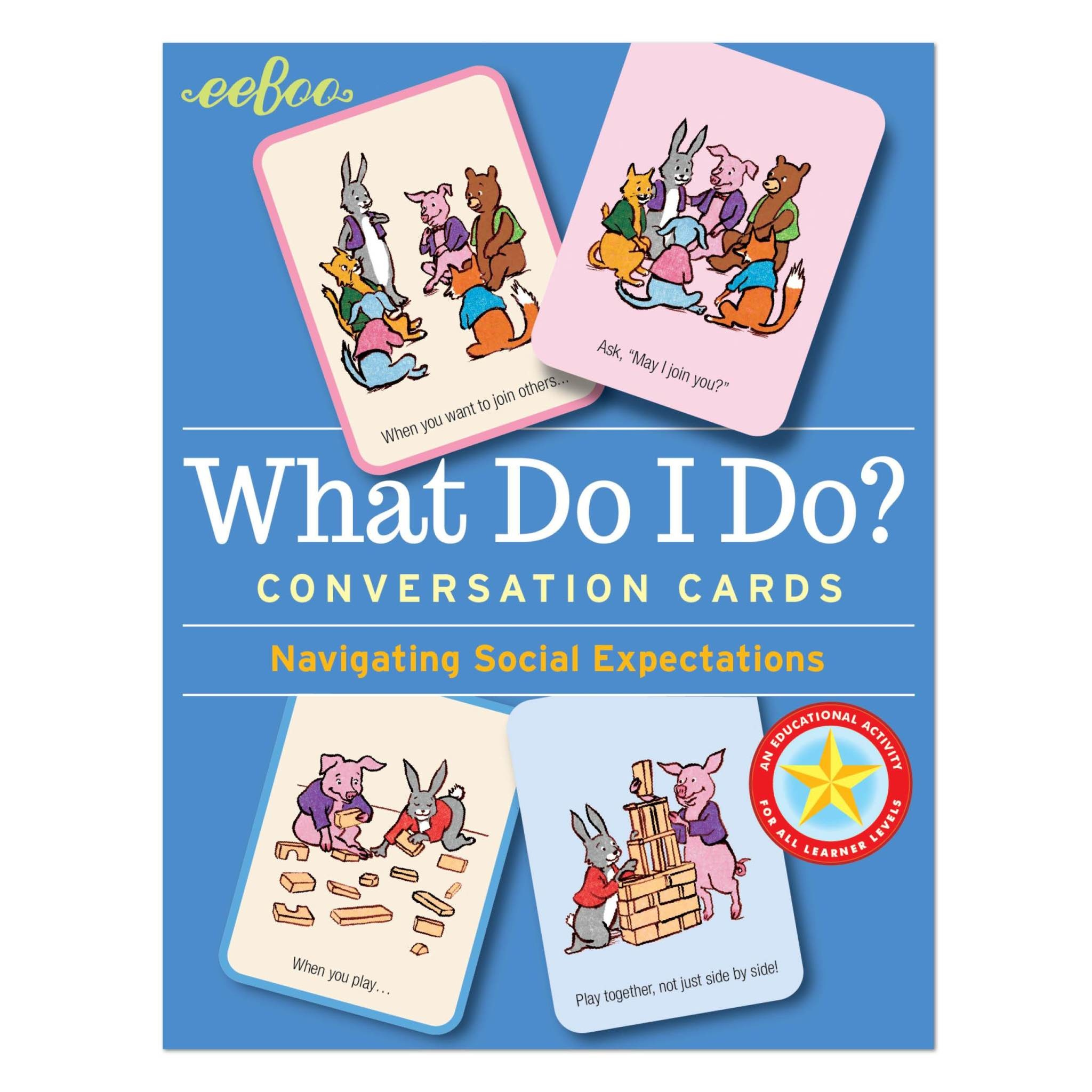 Conversation Cards: What Do I Do?