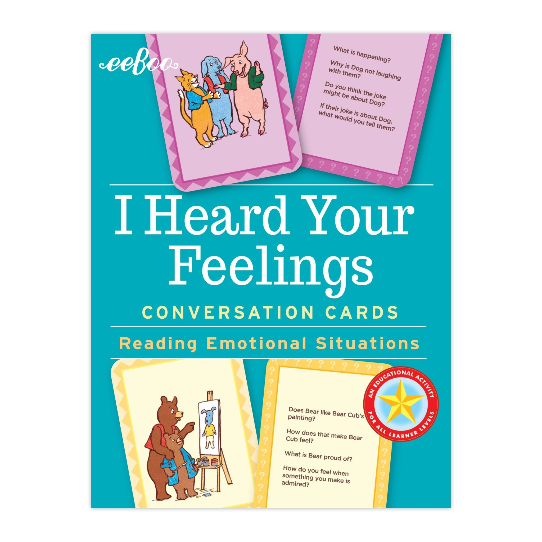 Conversation Cards: I Heard Your Feelings