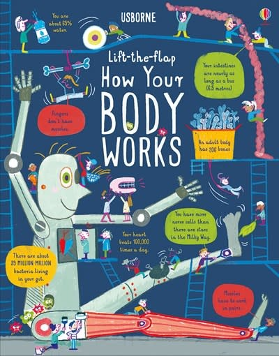 Lift-the-Flap How Your Body Works IR